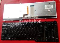 New for Toshiba Qosmio X500 X505 P500 P505 A500 backlit  US laptop Keyboard