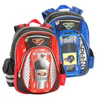 Hot Wheels backpacks for school bags children car bags boys 2014 new fashion red blue mochilas HW023