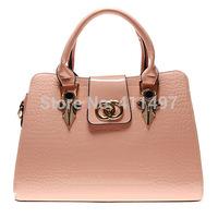 Genuine leather ladies Tote handbags high quality fashionable tote bag