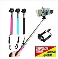 Bluetooth remote control mobile phone rod camera mount tripod camera