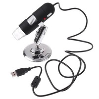 Free Shipping 5X to 500X Magnification 2MP 2 Mega Pixels 500X 8LED USB Digital Microscope Endoscope Magnifier Camera