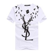 Free Shipping New Men's T Shirt Short Sleeve Cotton Shirts Male Quality Fashion Brand Design Causal Slim Summer Tshirt For Men