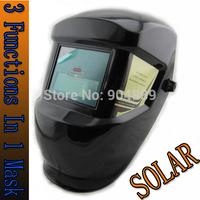 Stepless adjust Solar auto darkening electric welding mask/helmets/welder cap/eyes glasses for welding machine and plasma cutter