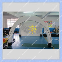 White 3m by 3m Inflatable Tent for Events DHL FREE Shipping Air Sealed Type Easy to Install Air Pump Included