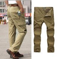2014 New Fashion Men Pants Casual Mens Long Trousers Straight Cotton sport outdoor Pant Famous Brand Designer 2 colours 6159