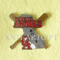 Corona Angels 2014 10U Baseball ball trading pins
