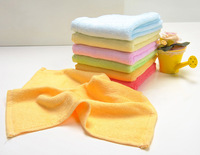 FEDEX FREE SHIPING 100 PCS Baby Face Towels Wipe Saliva Towel Natural Bamboo Cleaning Cloth 26*26 cm Soft & Antibacterial B5006