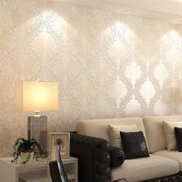 The new European- woven wallpaper wallpaper living room bedroom TV backdrop study home decor vintage taplete