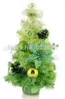 free shopping Christmas decoration 50 * 30cm green arrangement grade encryption gradient Christmas bonsai tree