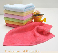10 PCS/LOT  Baby Face Towels Wipe Saliva Towel Natural Bamboo Washing Towel 26*26 cm Cleaning Cloth Soft & Antibacterial B5006