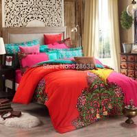 UPS free pure cotton thick sanding kids bedding sets king size reactive printing jogo de cama quilt/duvet cover sets bed linen
