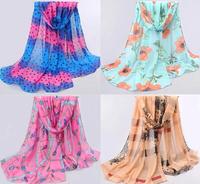New Desigual 1pcs Velvet Chiffon Women Scarf Dot Printed Silk Scarf Winter Warm Tassel Scarf Wrap Shawl Scarves16 Style