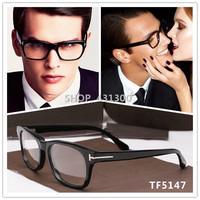 TF glasses brand eyeglasses TOP quality Acetate black eye glasses women brand designer glasses frame glasses men oculos original