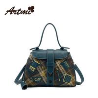 For ar tmi2014 autumn new arrival british style vintage fashion dimond plaid handbag female