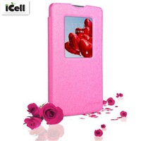Original Nillkin Brand Sparkle Series Flip Leather Case For LG L80 D380 ,+retail package 30pcs/lot DHL free shipping