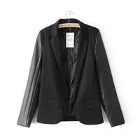 new arrival size S, M, L  2014 Autumn ladies fashion office wear casual Blazer women's single suit top WLJ14004