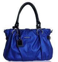 free shipping Fashion female leisure real leather shoulder oblique cross bag handbag