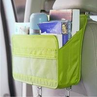 1PCS/LOT Free Shipping 2014 Multifunction Large capacity Car debris Storage Bag/backseat supplies car Storage Bag (single)