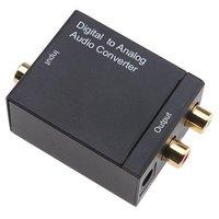 EzCap Audio Converter Toslink / Optical / Coaxial Digital to Analog RCA R/L Audio Converter Adapter - Drop Shipping