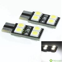 T10  149 168  8LED 5050SMD white 1.5W  110-140LM 6500-7500K DC12-16V width light reading lamp