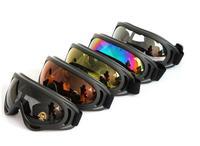 New Hot+Motorcycle anti- sandstorm goggles+x400+Ski Goggles+Protective glasses+Anti-impact glasses+5color