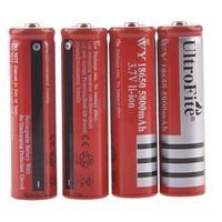 UltroFite Rechargeable 3.7V 18650 Li-ion 5800mAh Battery (4PCS)