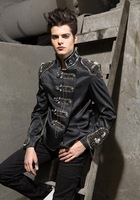 Men's Jacket  Bibi wind uniformed men in Europe and America models diamond suit jacket genuine special