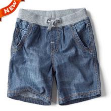 The New Children's Summer Children's Brand Jeans Denim Shorts 2014 Hot Fashion Boy Shorts(China (Mainland))