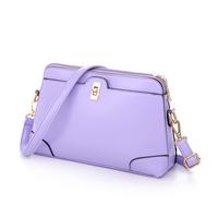 NEW arrive 2014 fashion Shoulder women Bag pu bags Zipper pocket  6 color High quality