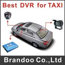 2 Channel автомобильный видеорегистратор — запись sd, металлический корпус мобильный DVR