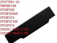 New 6 cells laptop Battery For FUJITSU LifeBook A530 A531 AH530 AH531 BH531 LH520, FMVNBP186 FPCBP250 FPCBP250AP