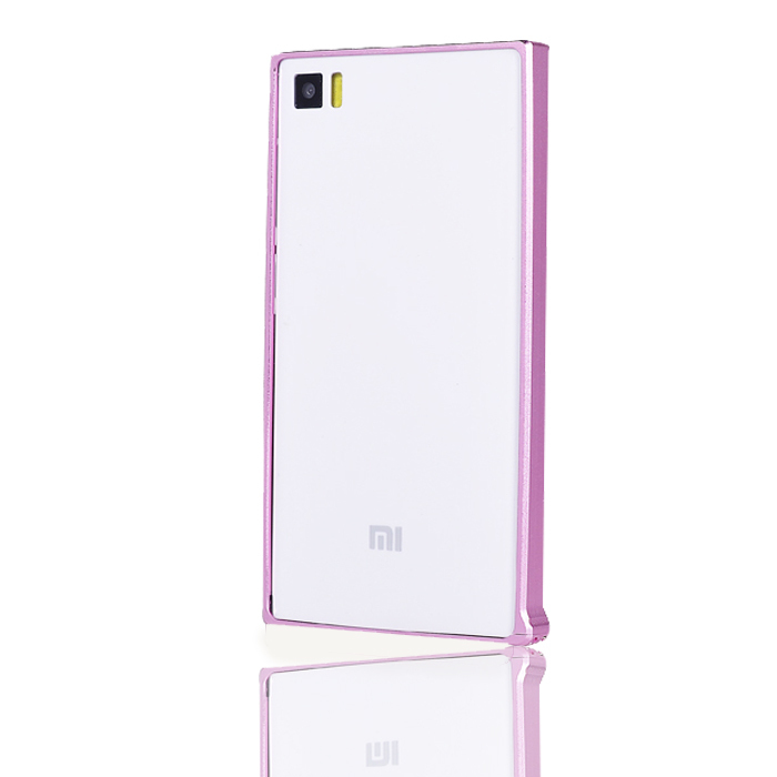 Luxury New Fashion Metal Frame Hard Case for Xiaomi mi3 Free Shipping,9 Styles Phone Cases High-Quality Without Retail Box(China (Mainland))