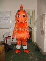 Shrimp cartoon clothes dolls clothing cartoon ocean customize cartoon child clothes stage cartoon costume  fish mascot  costume