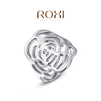 2014 New Real Rings Rings For Roxi Christmas Gift Classic Genuine Austrian Crystals Fashion Kiss Fish Ring 100% Man-made