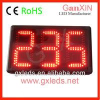 alibaba express Ganxin 8 inch 3 digit red large led 7 segment display