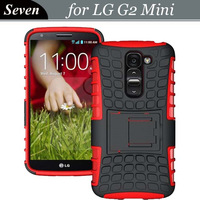Free Shipping For LG Optimus G2 Mini Dual Layer Spider Hybrid Combo Stand Hard Case, 50pcs/lot