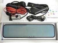 Dual Lens AT880 4.3inch Full HD car dvr camera 1920*1080P 30FPS G-Sensor WDR HDMI 148 degrees wide Angle Night vision