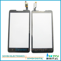 for Lenovo A766 touch screen digitizer touch panel touchscreen.Original new,black ,free shipping