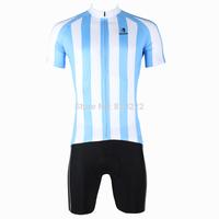 2014 New fashion Men's  Design Short Sleeve Cycling Jersey Shirt cycling clothing Bicycle-S M L XL 2XL 3XL-Blue Stripes