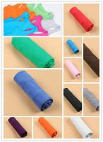 Manufacturer Wholesale Small Vest Fine Thread Cotton Candy Color Tank Tops