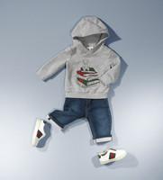 Fashion Baby Boys Clothing Set Kids 2pcs Suit children hoodies + Jeans Winter Clothes Set for boys