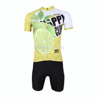 2014 New fashion Men's  Design Short Sleeve Cycling Jersey Shirt cycling clothing Bicycle-S M L XL 2XL 3XL-Lemon