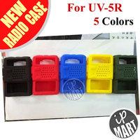 FS! Rubber Soft Handheld Case Holster for BAOFENG UV-5R UV-5RPlus UV-5RA UV5RB UV5RC UV5RD UV-5RE  TH-F8 Walkie talkie(2pcs/lot)
