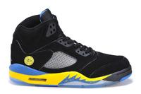 Bulls 5 Retro Basketball Shoe  Classical V basketball boots leather men's bulls basketball shoes Shanghais edition