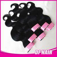 Cheap Brazilian Human Hair 6Pcs/Lot 50g/Pc Free Shipping Wavy Hair Extensions Natural Black Mixed 8-28 Inch  Beauty Hair