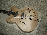 Wholesale Guitars Natural Hollow EPI ES335 Jazz Guitar High Quality Free Shipping