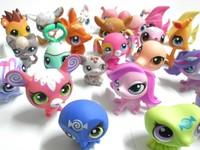 10pcs/lot 4-6cm Little Pet PVC Children Games Toy Animals Action Figures Model Girls Boys Toys Christmas Gifts SP041