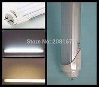 100Pcs/lot high brightness led bulb lamp led tube T8 1.2m 20W smd2835 96leds 85-265V led light warm white /white T501