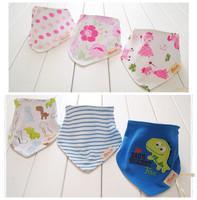 baby bib brand 100% cotton infant saliva towel baby clothing burp cloths double layer baby bibs