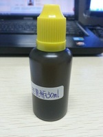 Wholesale  FREE shipping- 2500PCS 30ml black PE plastic with black child resistent caps.